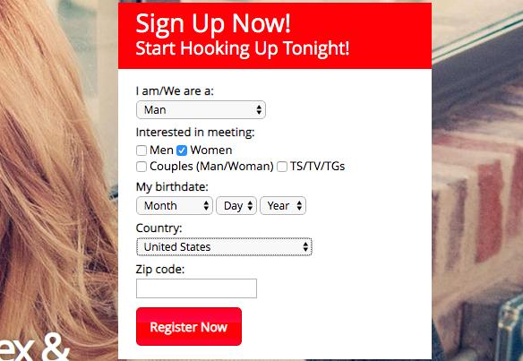registration AdultFriendFinder