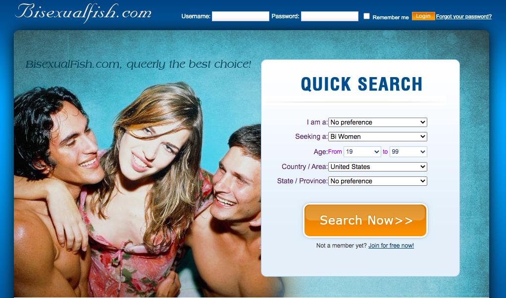 BisexualFish main page
