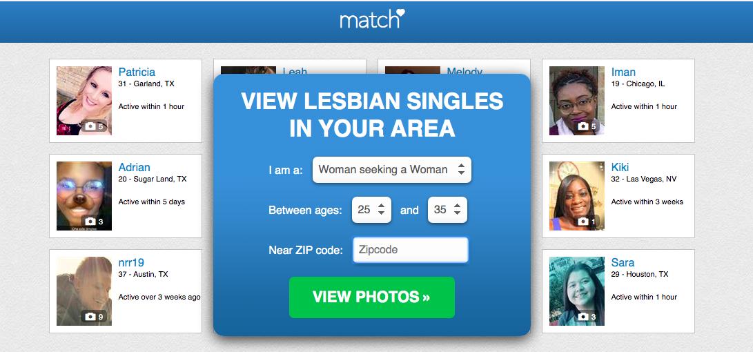 Match.com lesbian