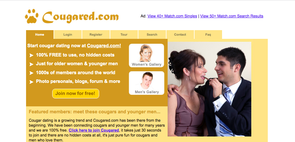 main page Cougared.com