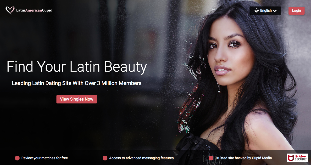 Latin American Cupid main page