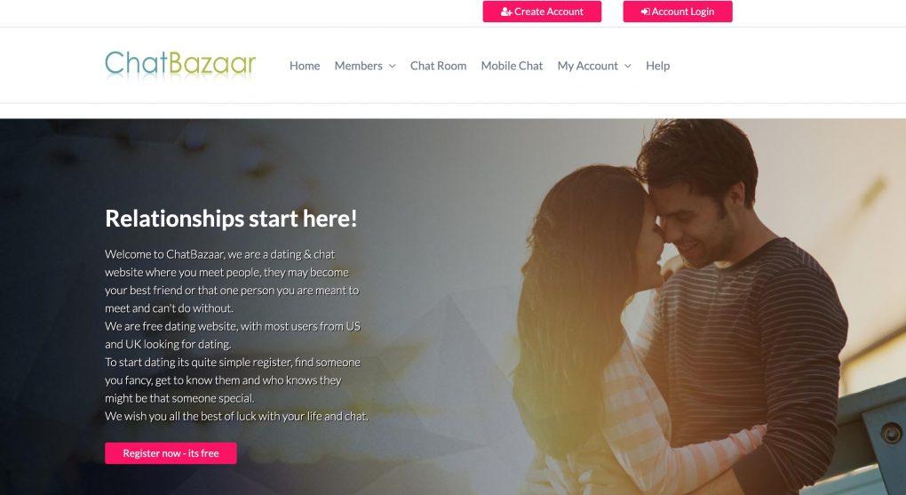 chatbazaar main page