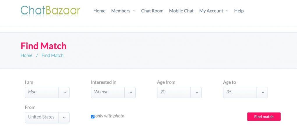 chatbazaar search