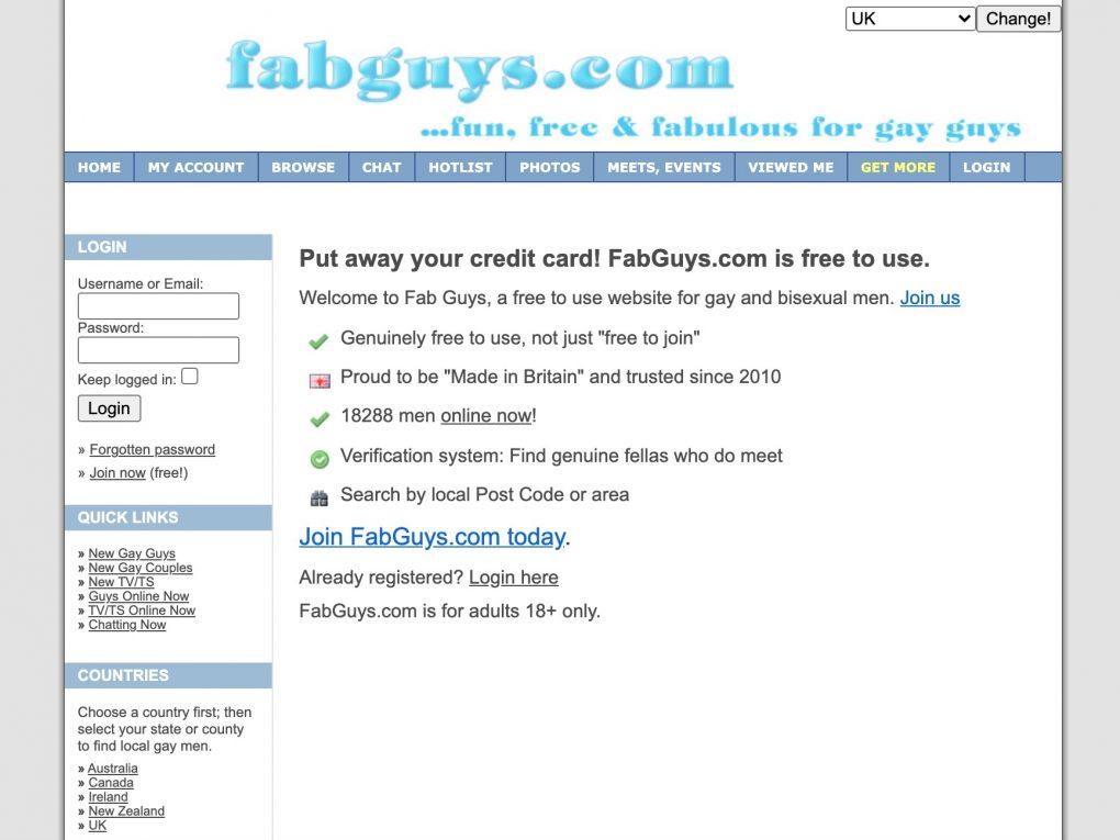 FabGuys main page