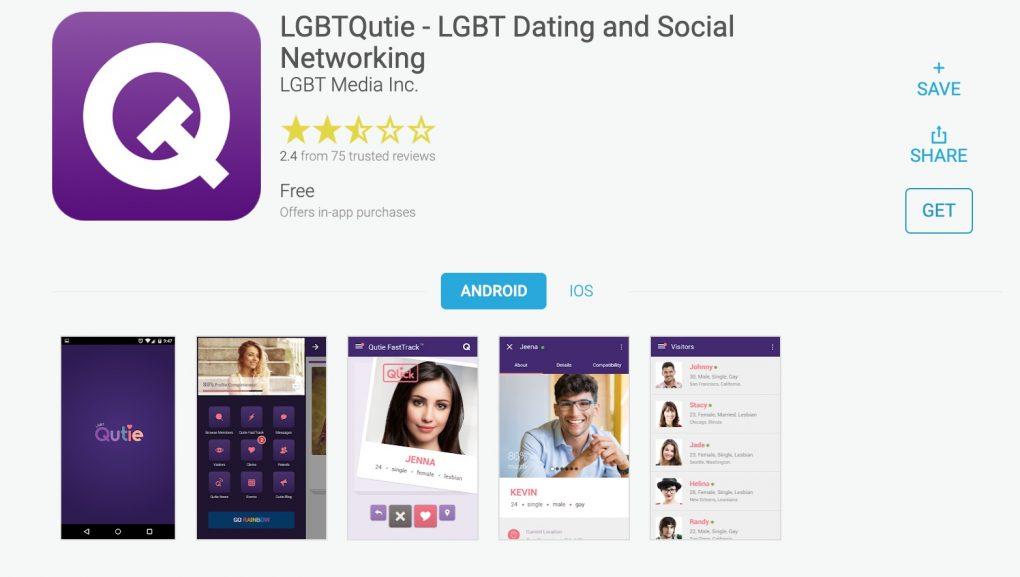 LGBTQutie app