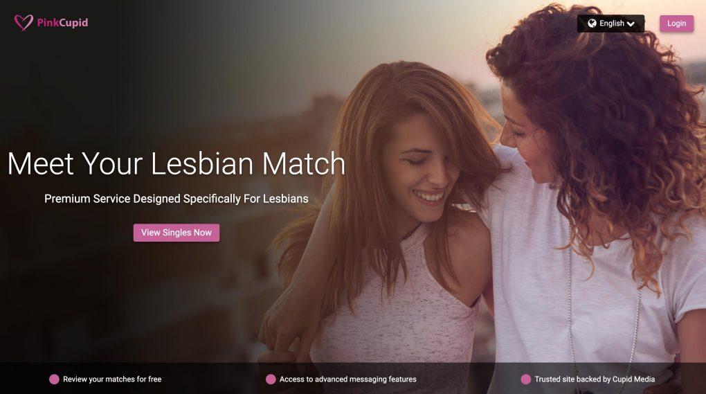PinkCupid main page